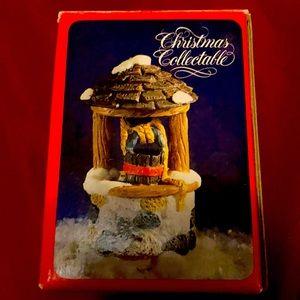 Christmas Collectable Christmas well